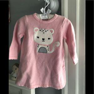 Baby girl sweater dress 3-6 months